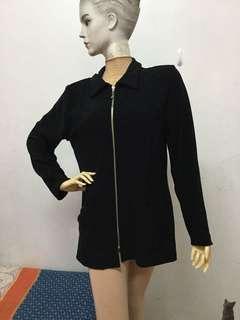 🚚 九成新goodclothes品牌L號黑色外套