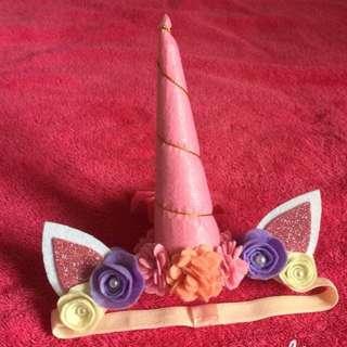 Unicorn headband for girls