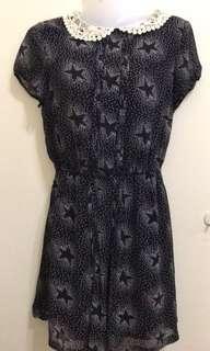 Floral dress size L