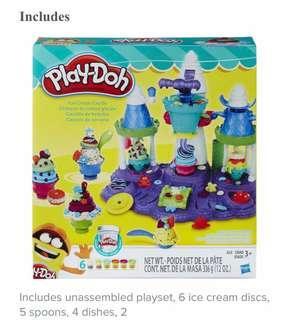 Play Doh Ice cream factory