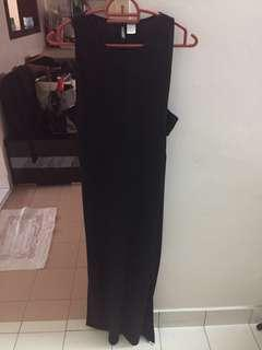 Black Long dress H&M