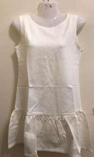 White Dress size M-L