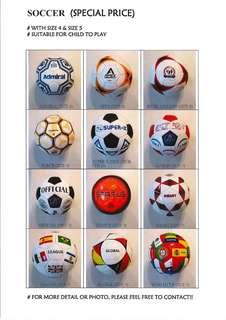 New Soccer Football! Sell at special price! 全新足球(特價!)