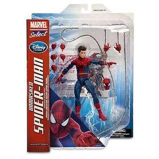 Marvel Select Unmasked Spiderman 2