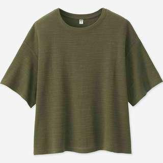 Uniqlo knitted boxy crew neck