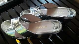 Prada platform sandals heel