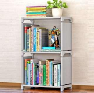 3 tier bookshelf / storage organisation