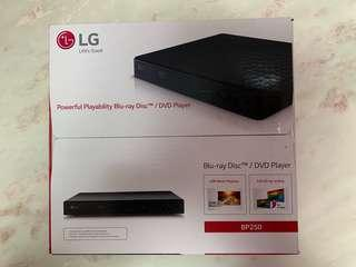 LG Blu Ray DVD player BP250