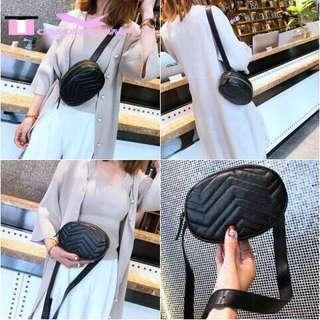 Korean Leather Belt Bag