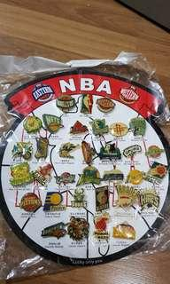 NBA EASTERN & WESTERN CONFERENCE