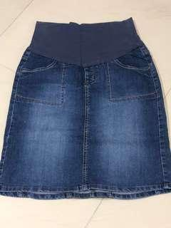 Bundle Denim Skirt and Mothercare T-shirts