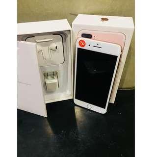 iPhone7Plus 128gb Rosegold / 100% Battery Health