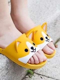 Shiba Inu unisex flip flops
