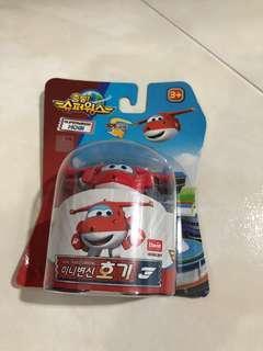 Super Wings Mini Transformer Toy (Jett)