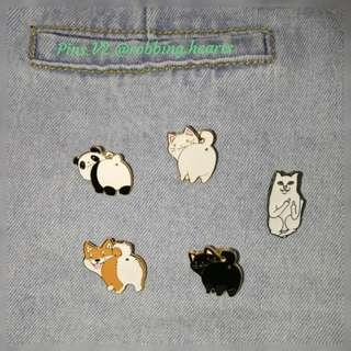 🚚 [In Stock] Butts and Rude Cat Enamel Pin