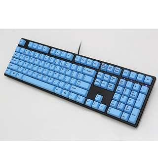 **Promotion** Ducky One PBT All Blue (Black Frame) Mechanical Keyboard