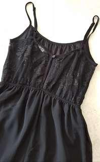 Miss Selfridge Little Black Dress Lace Back