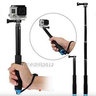 36in/91cm GoPro Waterproof monopod Stick/Pole
