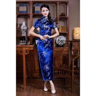 Free Shipping Promotion-15-25 Days Shipping Time for Women New Fashion Retro Long Cheongsam