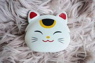 Japanese cat coin purse