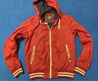 H&M Red Hood Jacket