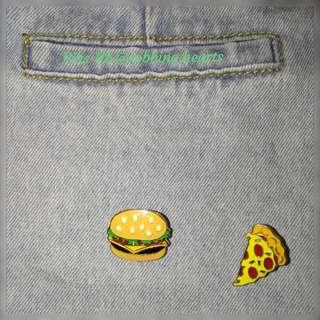 🚚 [In Stock] Food Enamel Pin