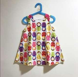 CNY Russian doll dress