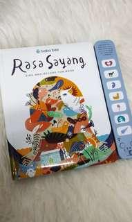 Rasa sayang sing-and-record sound book