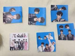 BTS WINGS TOUR STICKER CARD