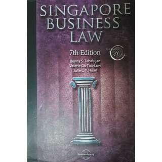 NTU AB1301 (Biz Law) Textbook [Price negotiable for fast deals]