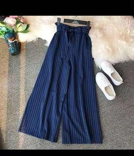 ⚡️SALE⚡️NAVY BLUE STRIPE PANTS
