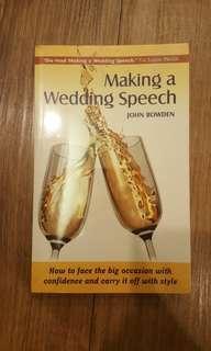 Self Improvement - Making a Wedding Speech - John Bowden