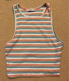 Zara cropped summer top