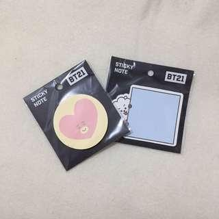 BT21 STICKY NOTE
