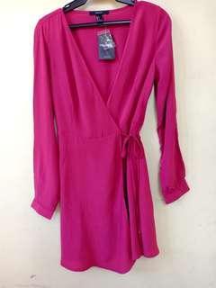 Forever 21 Surplice Erap Dress