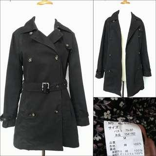 Japan long trench coat / long blazer coat / overcoat / spring coat / autumn coat / winter coat / long coat / coat panjang / outer panjang / long outer / outerwear