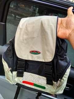 Vtg kickers backpack