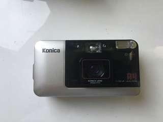 🚚 [閃燈故障]Konica big mini A4 定焦大光圈 底片相機
