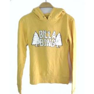 Billabong Yellow Hoodie