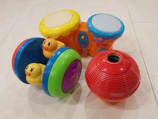 Baby Toys Bundle Sale (3 toys total)