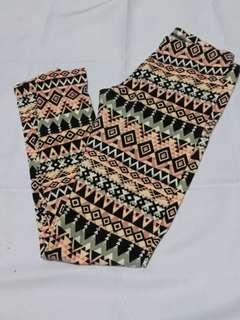 PL Charlotte Russe Aztec Print Leggings