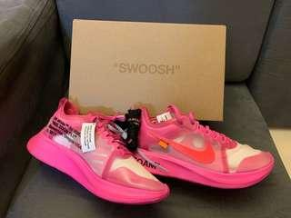 Off White x Nike Zoom Fly / US 9.5