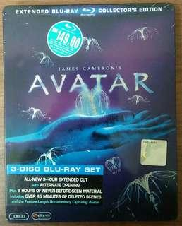 Blu ray Avatar Extended Collector's Edition Steelbook
