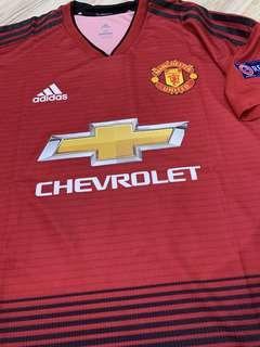 *SALE* MANCHESTER UNITED HOME KIT MANCHESTER UNITED JERSEY 18/19