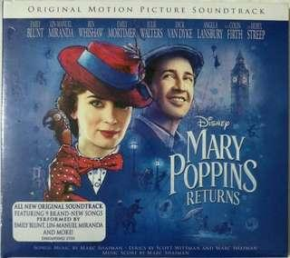 [Music Empire] Mary Poppins Returns - Movie Original Soundtrack OST CD Album