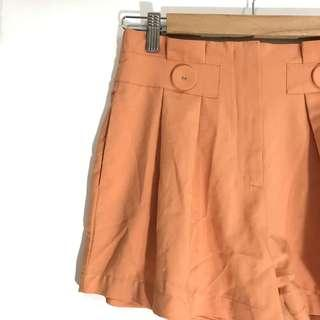 Summer Peach Shorts