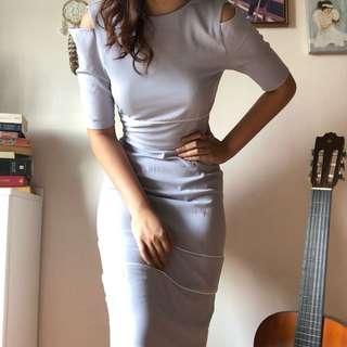 🚚 Bodycon Grey Dress