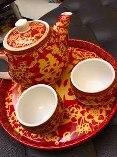 敬茶套裝 Chinese wedding tea set