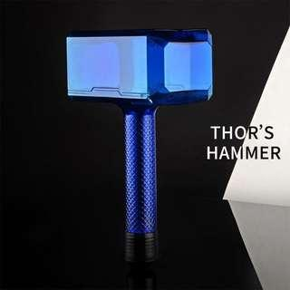 Thor's Hammer Sports Water Bottles Large Capacity Tour Hiking Interesting Hammer The Avengers Outdoor Plastic Water Bottle
