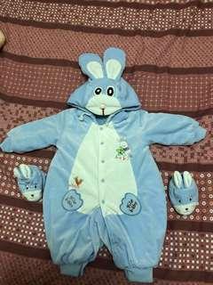 🚚 兔子連身妙妙裝
